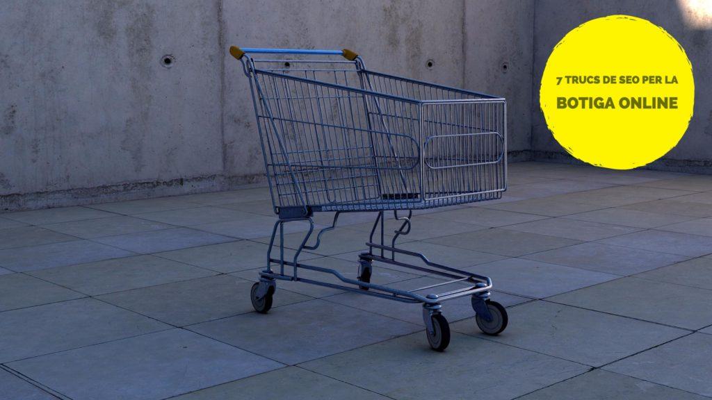 7 trucs de SEO per la botiga online